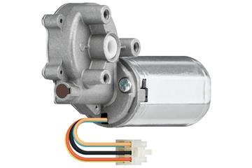 drylin® E DC motor with worm gear and spline
