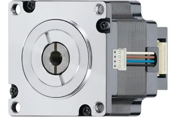 drylin® E lead screw stepper motor with strands and encoder, NEMA 23, short type