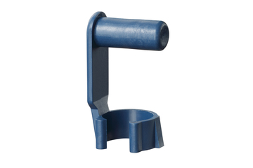 Spring-loaded fixing clip, detectable, GEFM-DT, igubal®