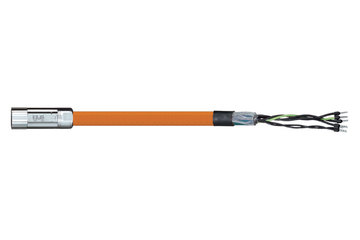 readycable® motor cable acc. to Parker standard iMOK42, base cable PVC 15 x d