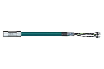 readycable® motor cable acc. to Parker standard iMOK43, base cable PVC 7.5 x d