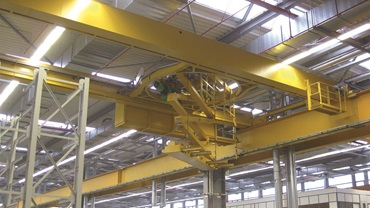 Fully automatic indoor cranes