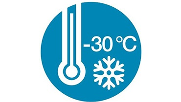 Icon for frozen temperatures