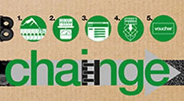 Recycling programme for energy chains