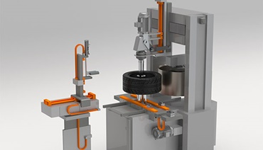 Uniformity measuring machine