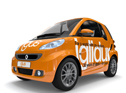 iglidur® on Tour: A compact car with 56 iglidur® plain bearings is going on a grand tour