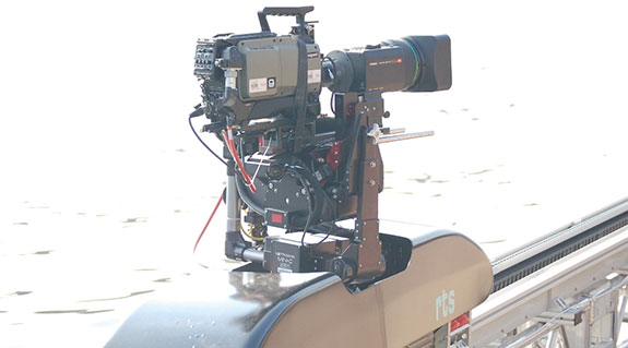 High speed camera positioning
